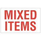 Etiket Mixed Items