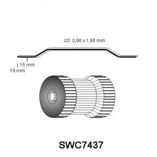 Nieten SWC7437 15 en 19mm